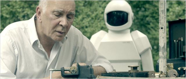 Robot and Frank : photo Frank Langella