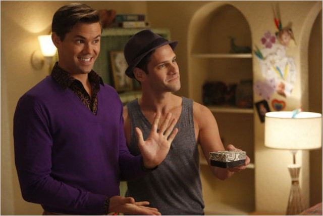 The New Normal : photo Andrew Rannells, Justin Bartha