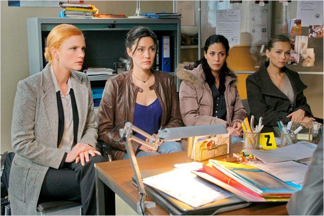 Photo Catherine Demaiffe, Claire Borotra, Léa Bosco, Samira Lachhab