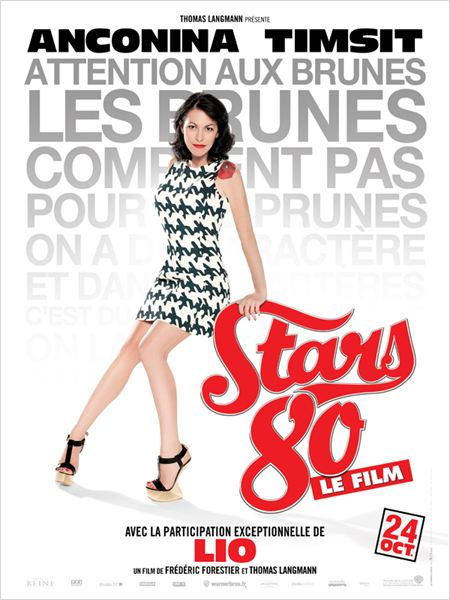Stars 80 : Affiche Fr&#233;d&#233;ric Forestier, Lio