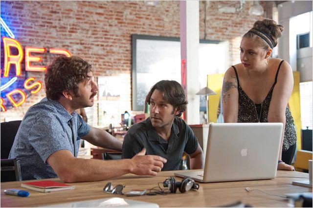 40 ans : mode d'emploi : photo Chris O'Dowd, Lena Dunham, Paul Rudd