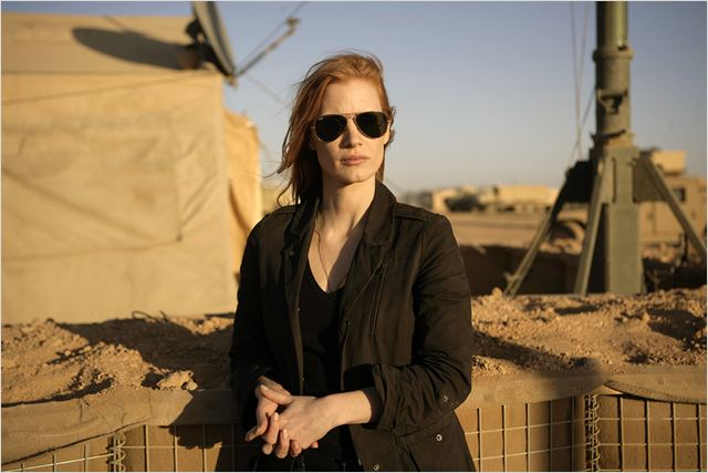 Zero Dark Thirty : photo Jessica Chastain