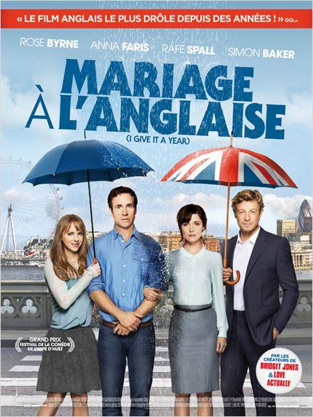 Mariage à l'anglaise : Affiche