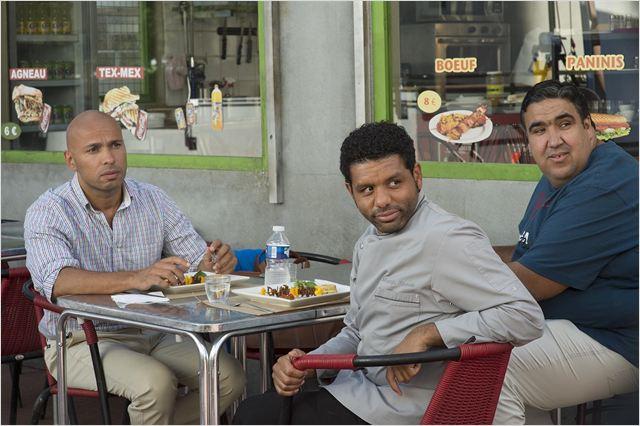 Mohamed Dubois : Photo Eric Judor, Wahid Bouzidi, Youssef Hajdi