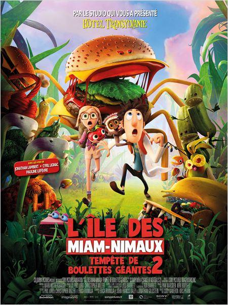 L'île des Miam-nimaux : Tempête de boulettes géantes 2 ddl