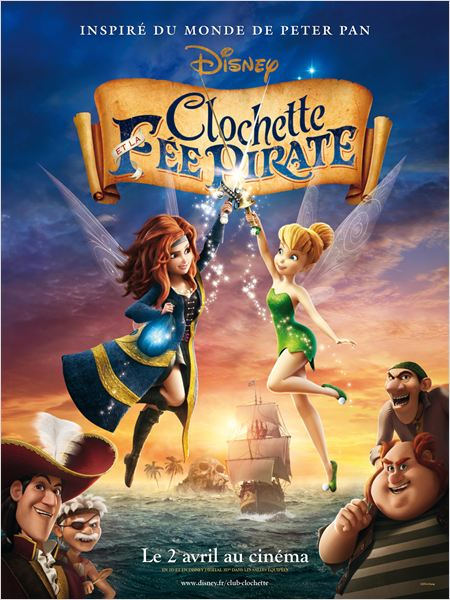 Clochette et la fée pirate en Streaming