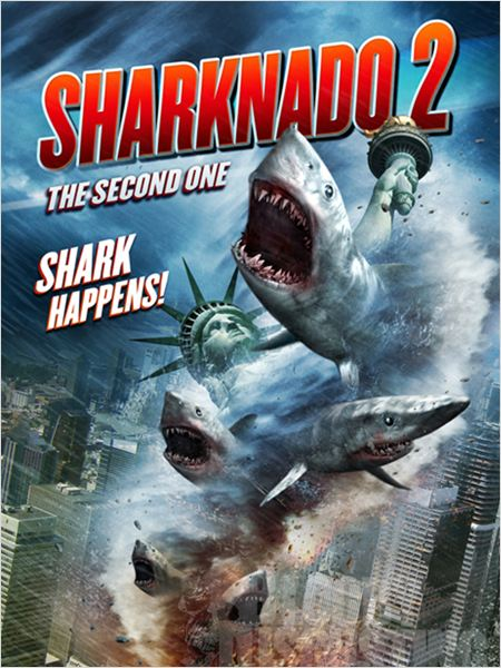 Telecharger Sharknado 2: The Second One  FRENCH DVDRIP Gratuitement