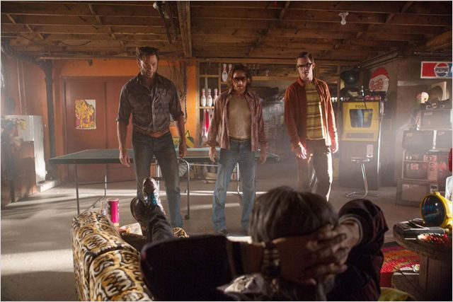 X Men: Days of Future Past : Photo Evan Peters, Hugh Jackman, James McAvoy, Nicholas Hoult