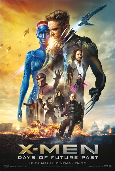 Telecharger X-Men: Days of Future Past Blu-Ray 720p TRUEFRENCH Gratuitement