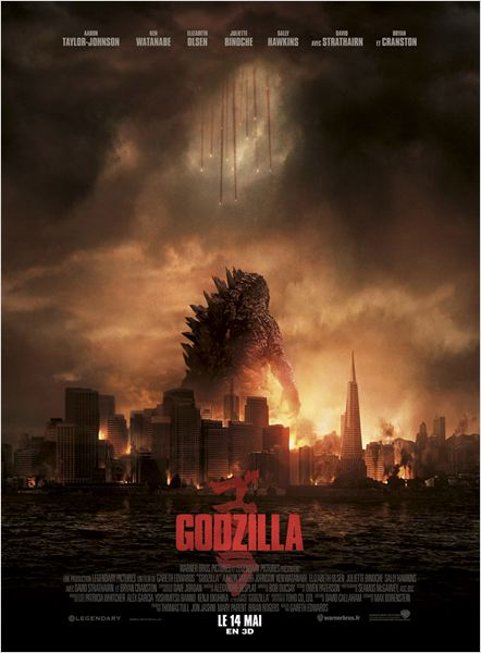 Telecharger Godzilla  Blu-Ray 1080p TrueFrench MultiLangues  Gratuitement