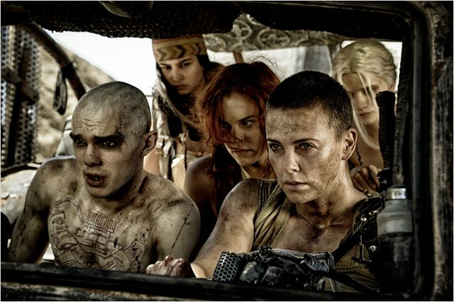 Mad Max: Fury Road : Photo Charlize Theron, Nicholas Hoult, Riley Keough