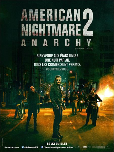 Telecharger American Nightmare 2 : Anarchy TRUEFRENCH BDRIP Gratuitement