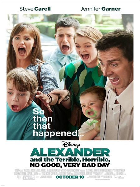 Alexander and the Terrible, Horrible, No Good, Very Bad Day [DVDRIP-VOSTFR]