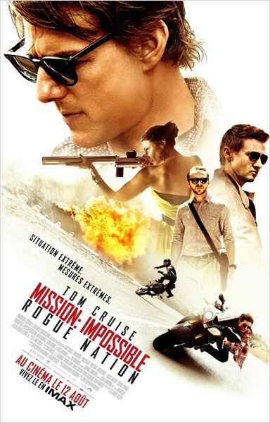 Mission: Impossible - Rogue Nation TS VOSTFR