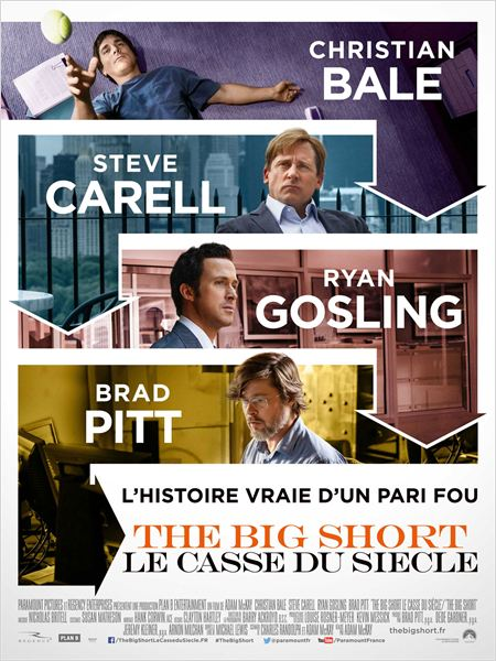 The Big Short : le Casse du siècle : Affiche