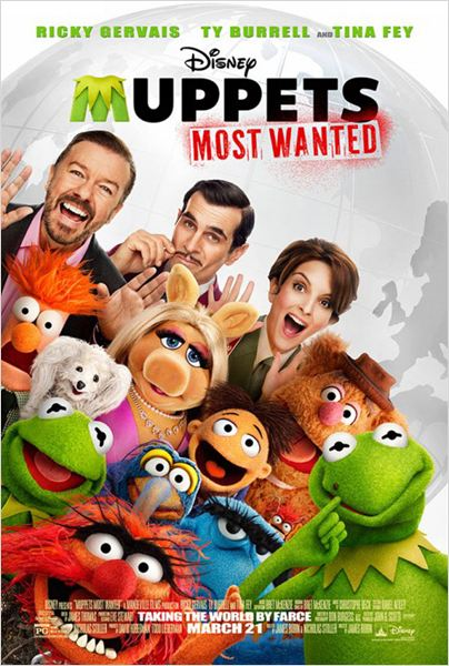Muppets most wanted : Affiche