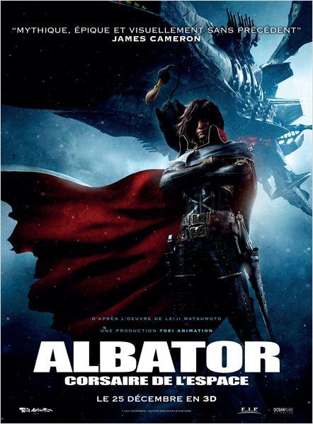 Albator, Corsaire de l'Espace : Affiche