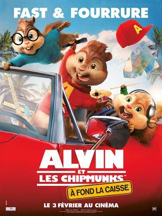 Alvin et les Chipmunks 4 - A fond la caisse affiche
