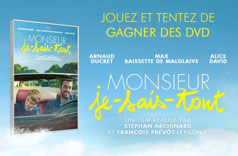 MONSIEUR JE SAIS TOUT : tentez de remporter des DVD !  20180921164324