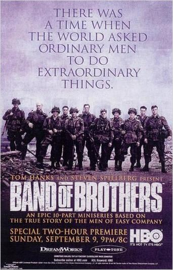 Band of brothers streaming fr. La datation.