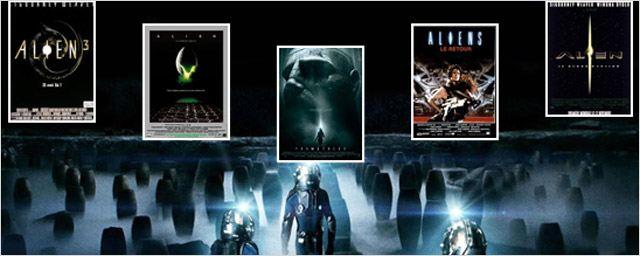 """De """"Alien"""" à """"Prometheus"""" : tout sur la saga"""