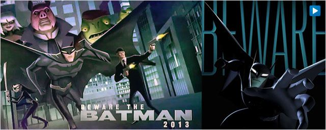 "Les premières images de ""Beware the Batman"" [VIDEO]"