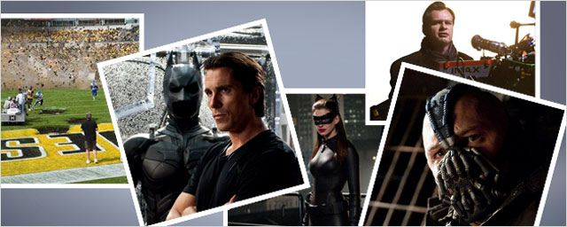 """The Dark Knight Rises"" côté coulisses !"