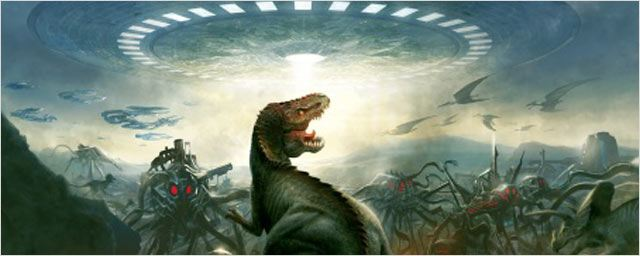"""Dinosaurs vs Aliens"" : la bande-annonce [VIDEO] !"