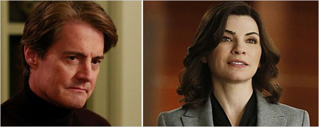 "Kyle MacLachlan rend visite à ""The Good Wife"""