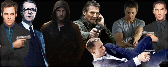 2012 : les tops des espions au cinéma !