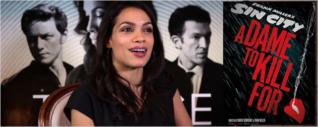 "Rosario Dawson nous parle de ""Sin City 2"" ! [VIDEO]"