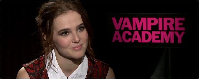 """""""Vampire Academy"""" : """"Ca n'a rien à voir avec Twilight"""" ! [INTERVIEW]"""