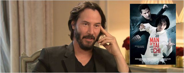"Keanu Reeves : de ""Matrix"" à ""Man of Tai Chi"""