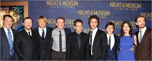 La Nuit au musée : Le Secret des Pharaons : l'équipe du film réunie pour les avant-premières