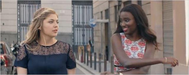 """La """"Jeune"""" Louane Emera invite dans son clip Karidja Touré, la révélation de Bande de Filles"""
