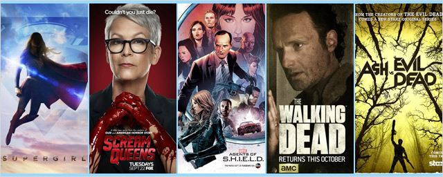 Saison US 2015 / 2016 : The Walking Dead, Supergirl, Heroes Reborn... le guide complet des séries