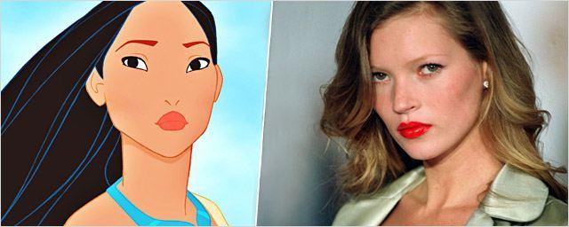 Pocahontas a 20 ans : quelles vedettes ont servi de modèle à l'héroïne de Disney ?