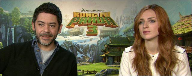 """Kung Fu Panda 3 : """"Aujourd'hui, les personnages grandissent avec leurs spectateurs"""", selon Manu Payet"""