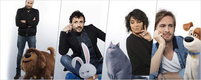 Comme des bêtes : Philippe Lacheau, Florence Foresti, François Damiens et Willy Rovelli chez les créateurs de Moi, moche et méchant