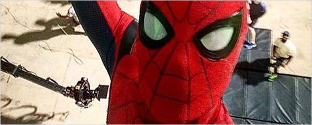 Spider-Man Homecoming : l'araignée en action sur deux vidéos du tournage