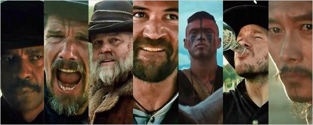 Les 7 Mercenaires se présentent en sept vidéos