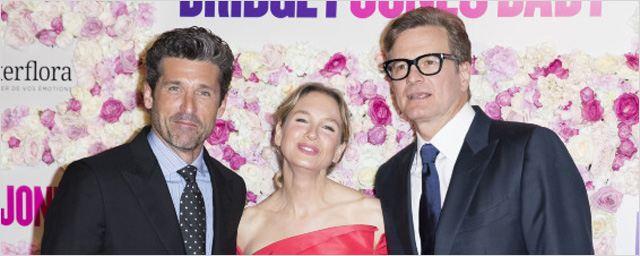 Bridget Jones Baby : des paillettes à Londres et des fleurs à Paris pour Renée Zellweger, Patrick Dempsey et Colin Firth !