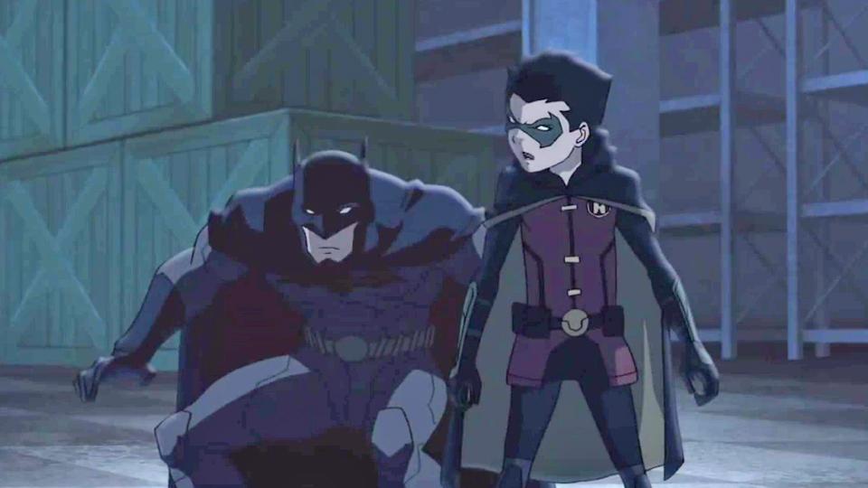 Trailer du film batman vs robin batman vs robin bande - Image de batman et robin ...