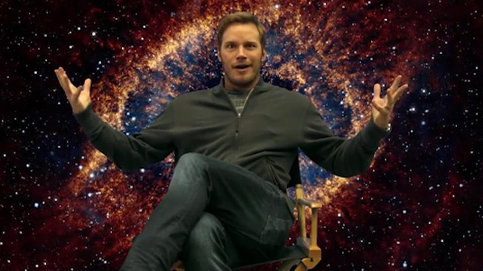 chris pratt vous offre une visite du tournage des gardiens de la galaxie 2 pour la bonne cause. Black Bedroom Furniture Sets. Home Design Ideas