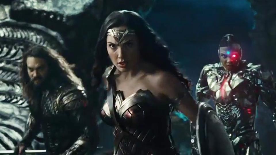 Justice League - Bande-annonce VOST (2)