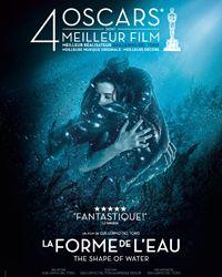 Affiche du film La Forme de l'eau - The Shape of Water