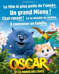 Affiche du film Oscar et le monde des chats