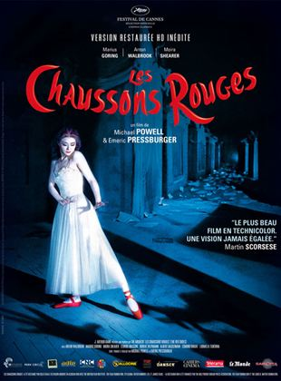 Les Chaussons rouges streaming