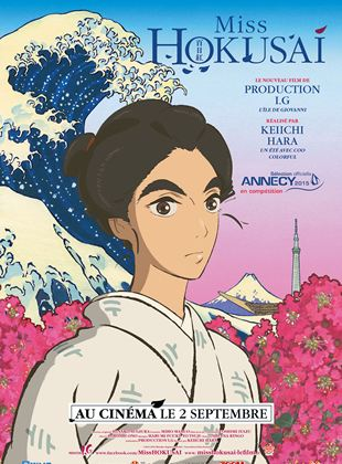 Miss Hokusai streaming