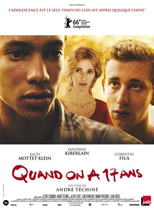 Bande-annonce Quand on a 17 ans
